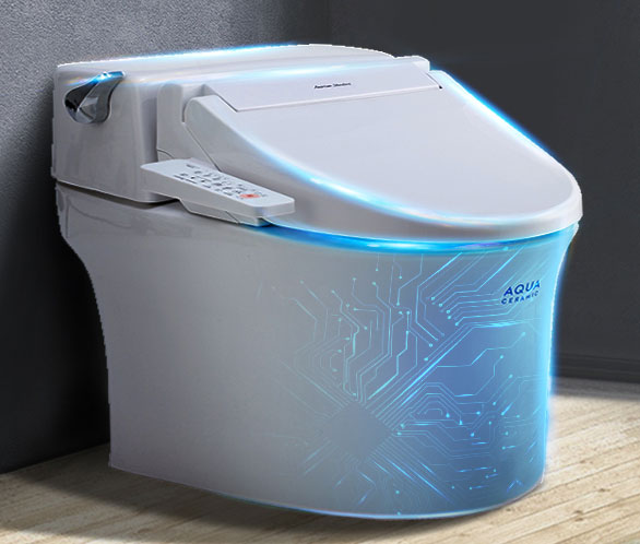 美标智能马桶一体式坐便器